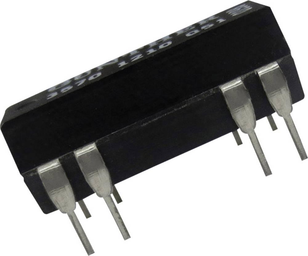Reed-relæ 2 x sluttekontakt 5 V/DC 0.5 A 10 W DIP-14 Comus 3572-1220-053