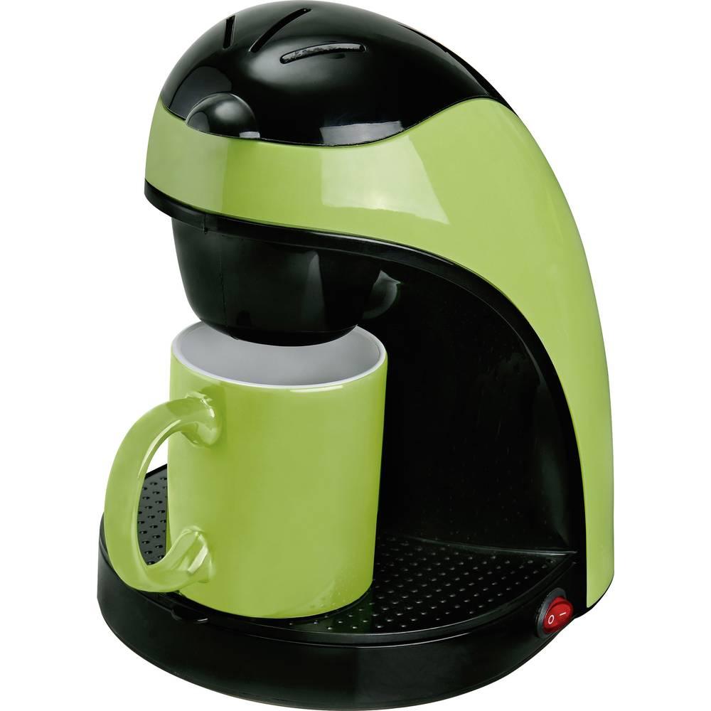 Coffee maker TKG Team Kalorik TKG CM 1007 G Black-green Cup volume=1