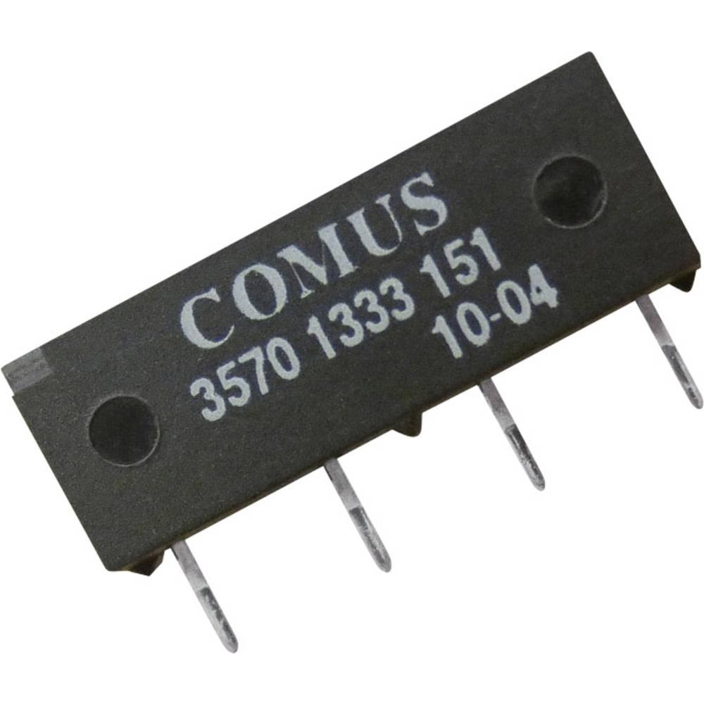 Reed-releji-zapiralni 12 V/DC 0.5 A 10 W SIP-4 Comus 3570-1333-123