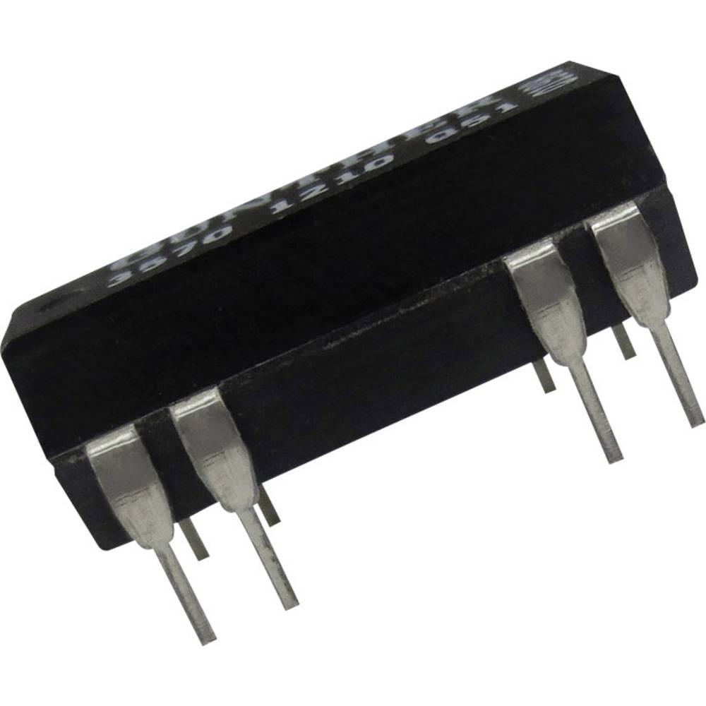 Reed-relæ 1 x sluttekontakt 24 V/DC 0.5 A 10 W DIP-14 Comus 3570-1210-243