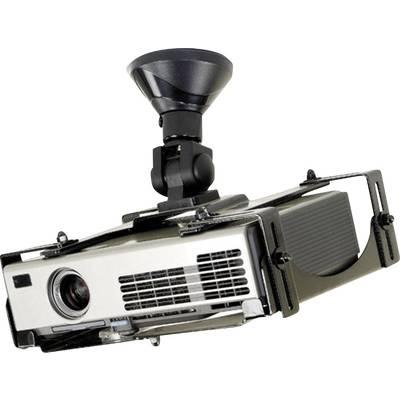 NewStar BEAMER-C300 Projector ceiling mount Tiltable, Rotatable Max. distance to floor/ceiling: 15 cm Black