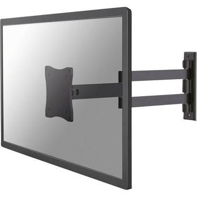 NewStar FPMA-W830BLACK Monitor wall mount 25,4 cm (10) - 68,6 cm (27) Swivelling/tiltable