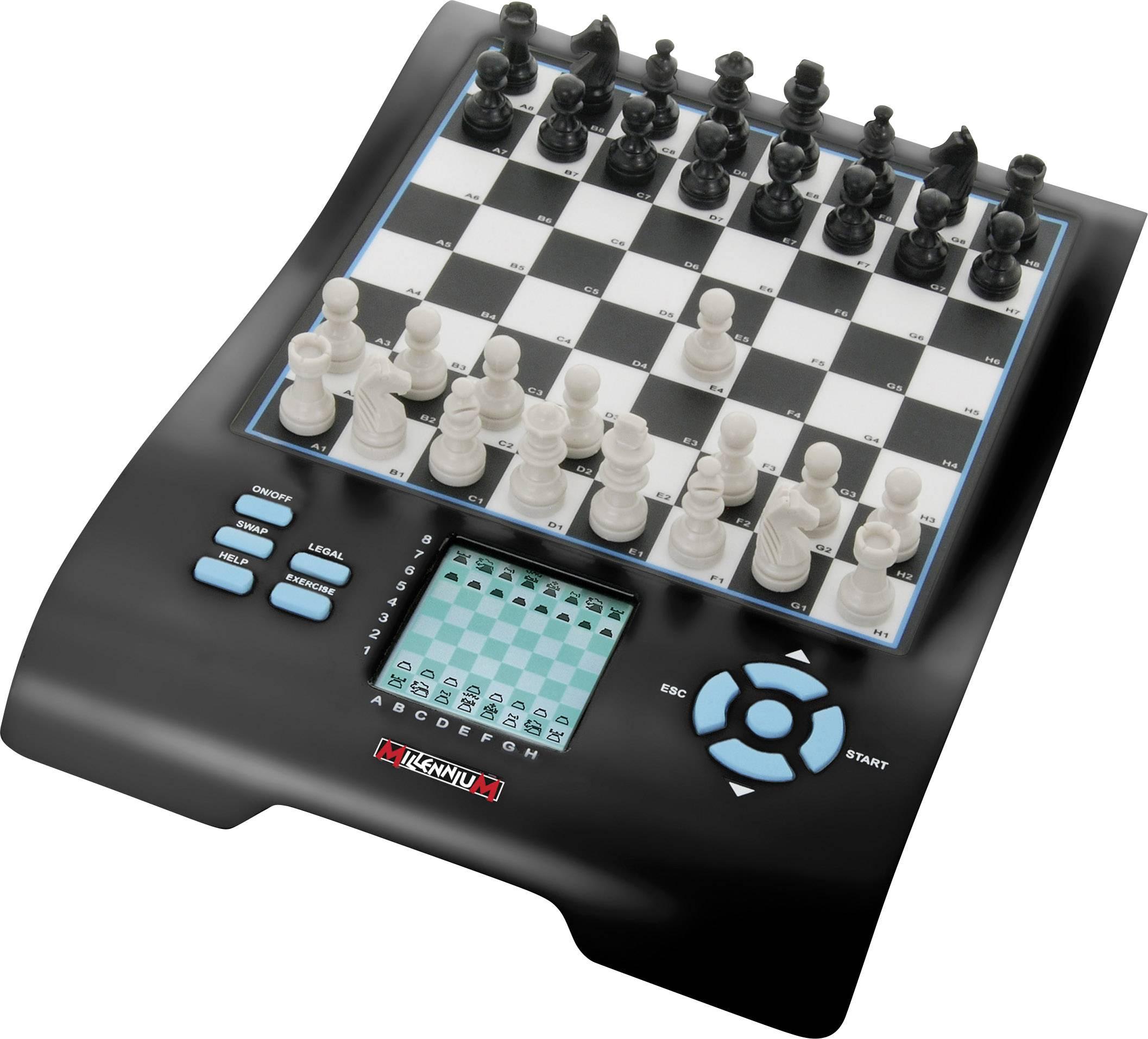 Spiele Europe Chess Master 8-in-1 Schachcomputer