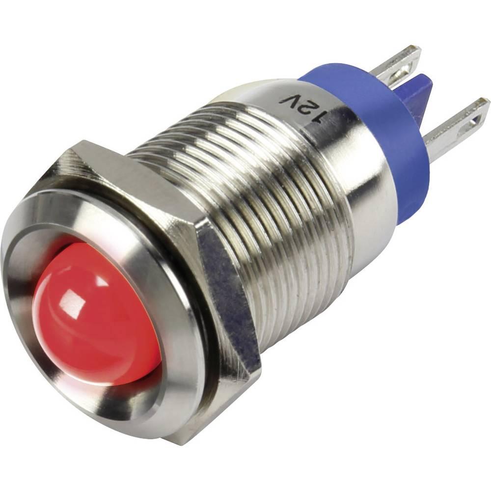 LED-signallampe TRU COMPONENTS 1302124 12 V/DC 15 mA Rød