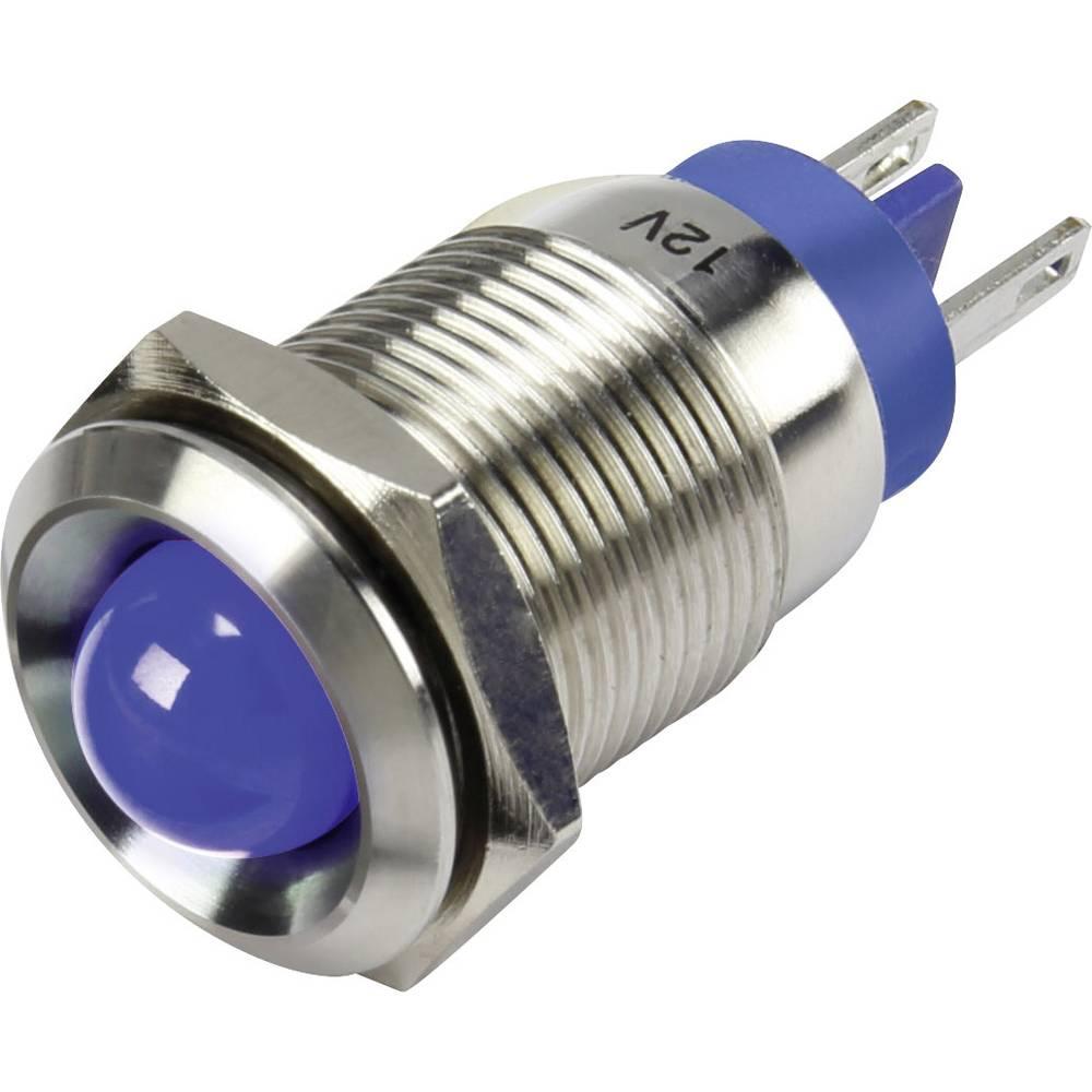 LED-signallampe TRU COMPONENTS 1302126 12 V/DC 15 mA Blå