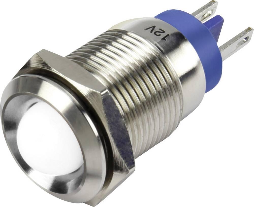 LED-signallampe TRU COMPONENTS 1302135 12 V/DC 15 mA Hvid