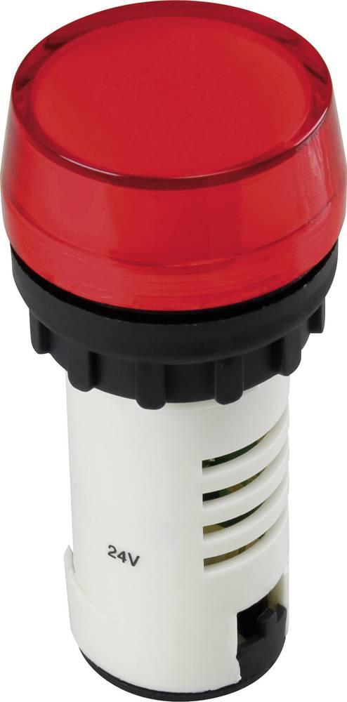 LED-signallampe TRU COMPONENTS 1302156 24 V/DC Rød