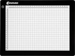 Svetlobni in montažni pult, črna barva (D x Š) 21 cm x 29.5 cm Conrad KB-A4 vsebina 1 kos