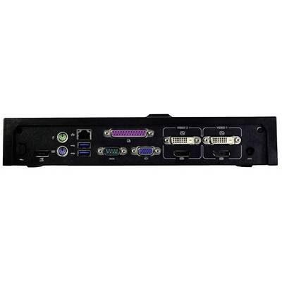 Dell 9WPXK E-Port replicator Compatible with: Dell Latitude