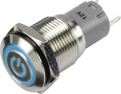Pritisna tipka 48 V/DC 2 A 1 x uklop/(uklop) TRU Components LAS2GQF-11ET/B/12V/S/P IP65 s povratom 1 kom.