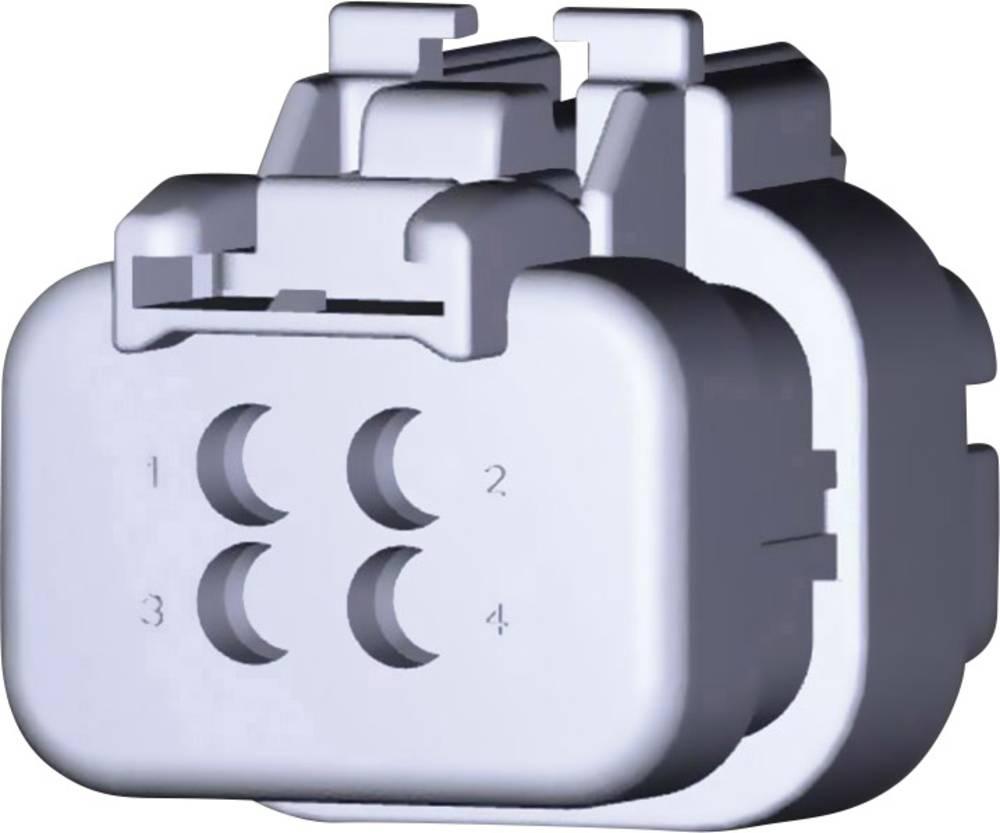 Stiftkabinet-kabel AMPSEAL16 Samlet antal poler 4 TE Connectivity 776536-1 1 stk