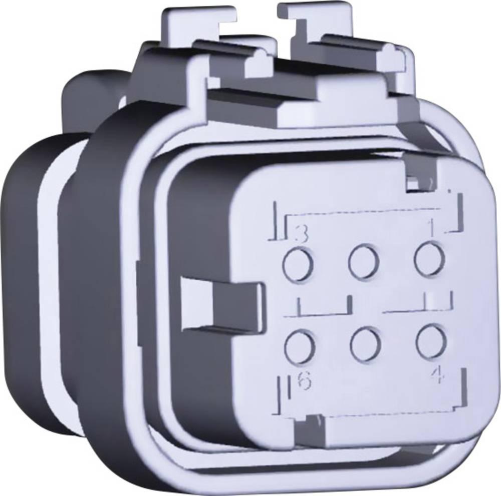 Tilslutningskabinet-kabel AMPSEAL16 Samlet antal poler 6 TE Connectivity 776433-3 1 stk