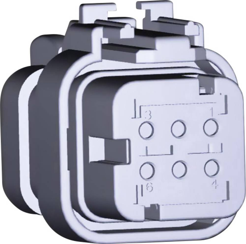 Tilslutningskabinet-kabel AMPSEAL16 Samlet antal poler 6 TE Connectivity 776531-2 1 stk