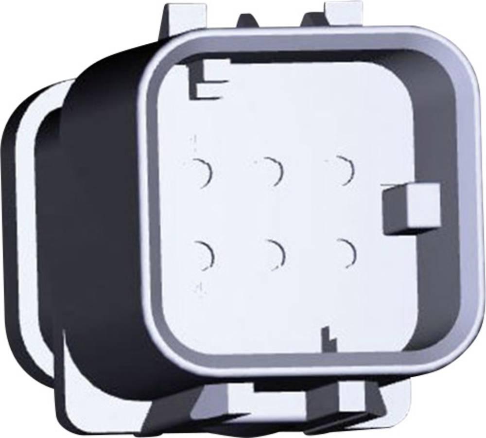 Stiftkabinet-kabel AMPSEAL16 Samlet antal poler 6 TE Connectivity 776537-3 1 stk