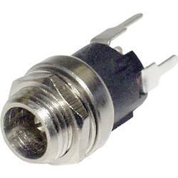 Lavspændingsstik Chassistilslutning, lige 2.5 mm econ connect DCE5BP 1 stk