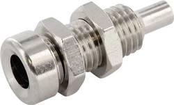 Laboratorietilslutning Tilslutning, indbygning lodret econ connect TB4M 4 mm Metal 1 stk