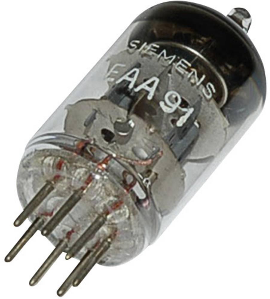 Elektronska cijev EAA/EB 91 =6AL 5 polovi: 7 Sockel Miniaturopis: Doppeldiode