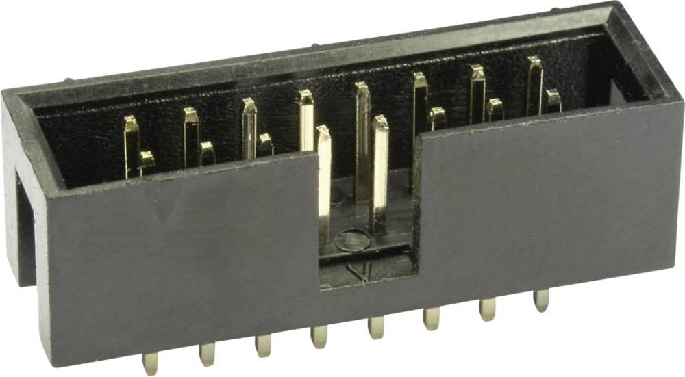 Stiftliste WS34G Samlet poltal 34 Antal rækker 2 econ connect 1 stk