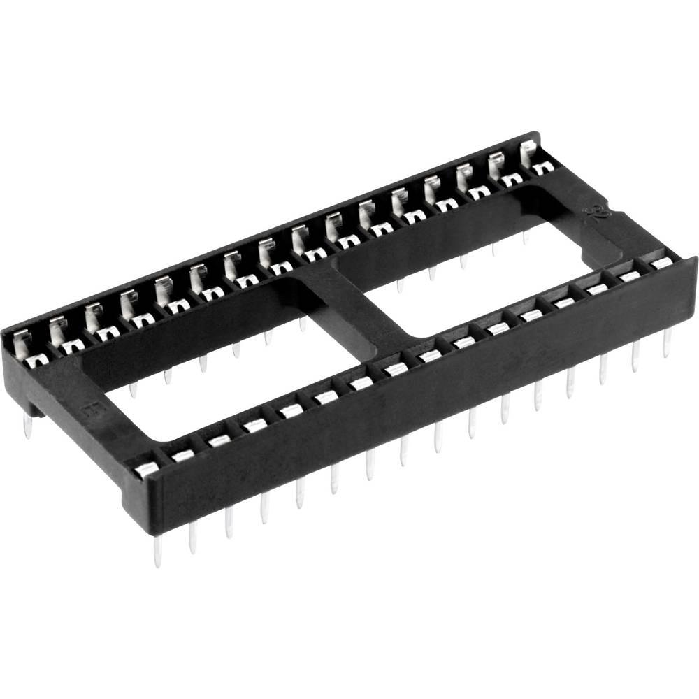 IC-fatning Rastermål: 15.24 mm Poltal: 32 econ connect 1 stk