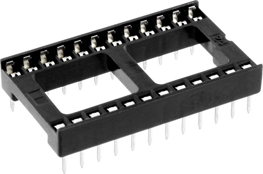 IC podnožje 15.24 mm št. polov: 24 econ connect ICF24 1 kos