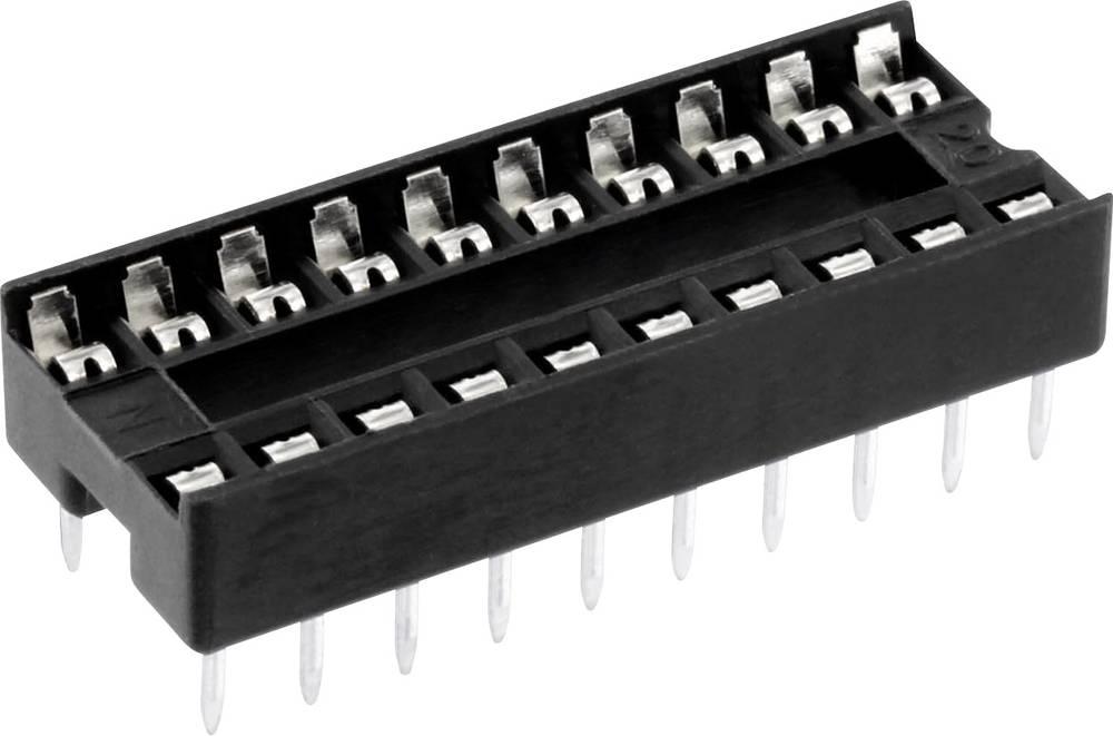 IC podnožje 7.62 mm št. polov: 16 econ connect ICF16 1 kos