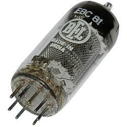 Elektronka EBC 81 = 6 BD 7 A dvojna dioda-trioda 250 V 1 A št. polov: 9 podnožje: novalno