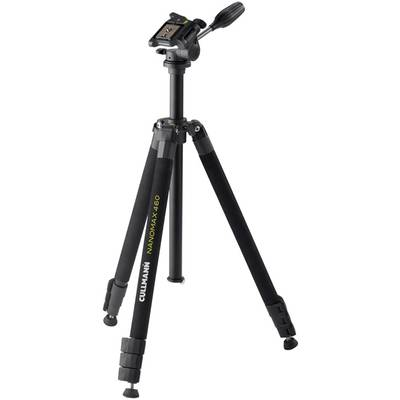 Cullmann Nanomax 460 RW20 Tripod 1/4, 3/8 ATT.FX.WORKING_HEIGHT=19 – 170 cm Black