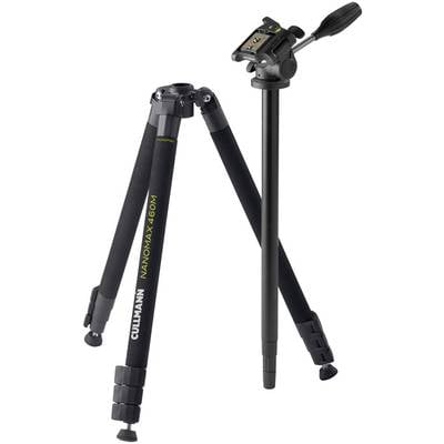 Cullmann Nanomax 460M RW20 Tripod 1/4, 3/8 ATT.FX.WORKING_HEIGHT=19 – 168 cm Black