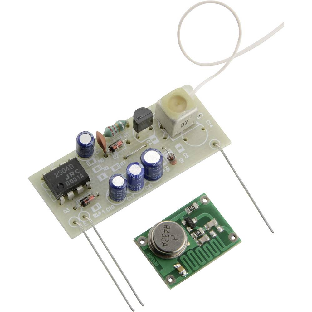 Conrad Rf Transmitter Receiver Set 433 Mhz Am Component From Module Circuit Diagram
