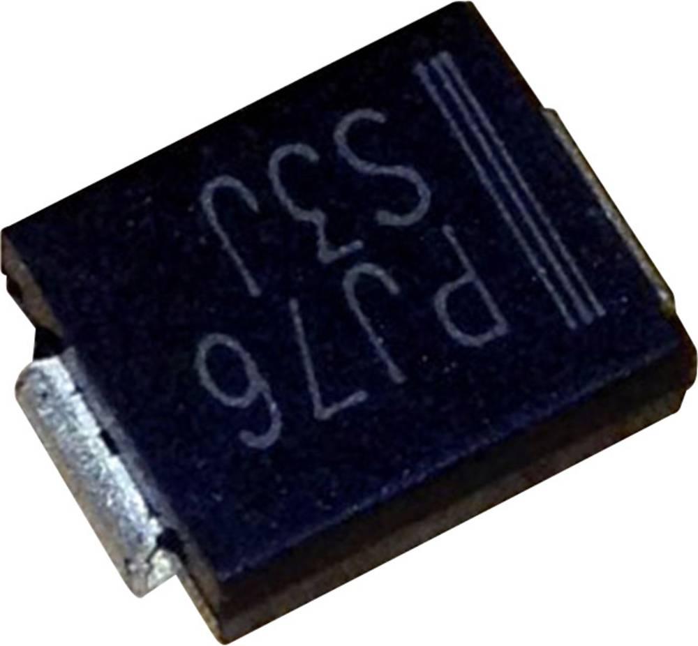 Schottky dioda PanJit SK36 vrsta kućišta: SMC/DO-214AB I(F) 3 A napon (U) 60 V