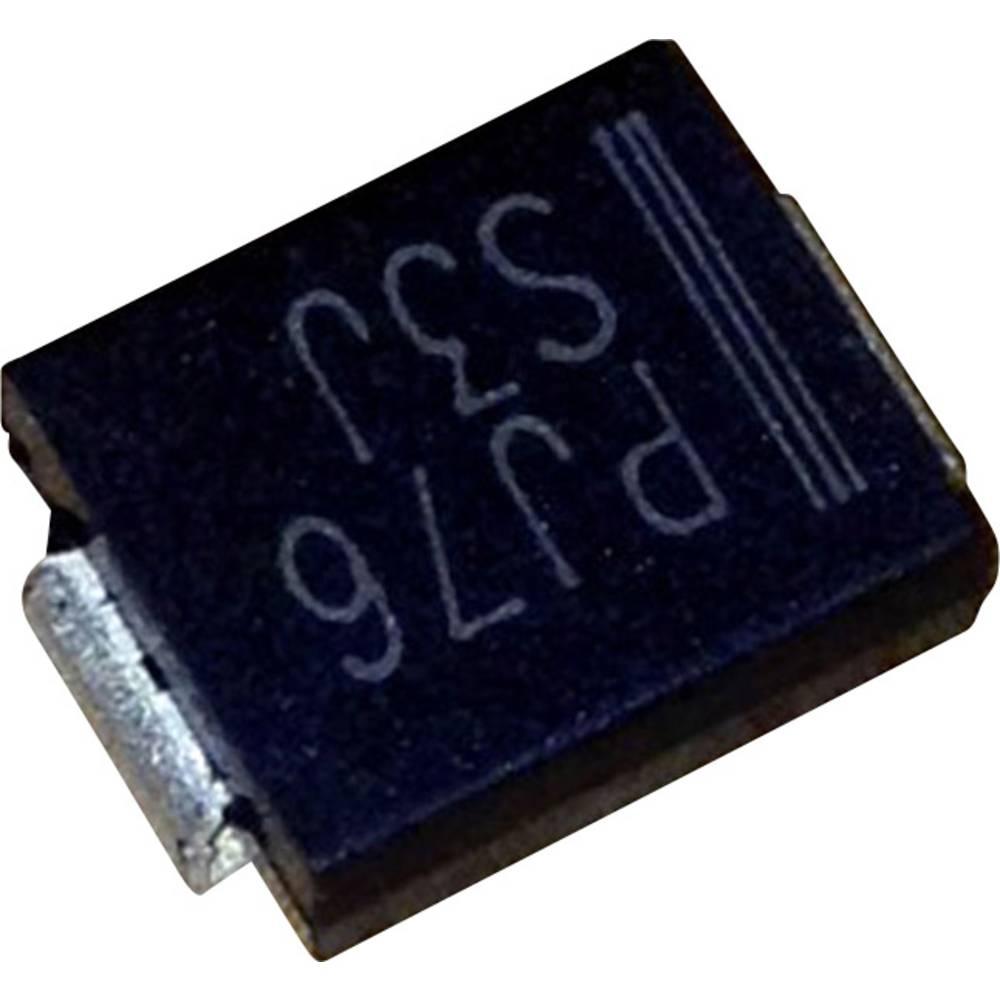 Schottky dioda PanJit S510L vrsta kućišta: SMC/DO-214AB I(F) 5 A napon (U) 100 V