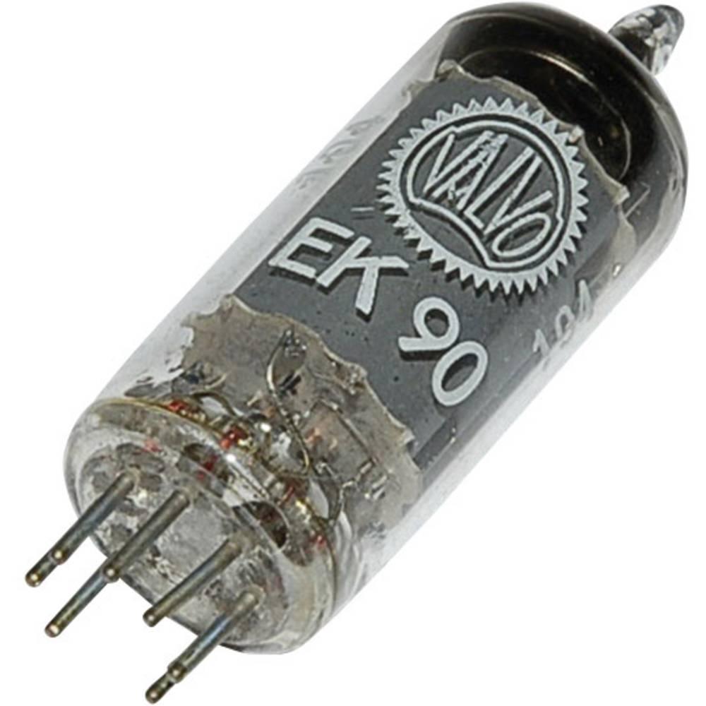 Elektronska cijev EK 90 = 6 BE6 polovi: 7 Sockel Miniatur opis: Heptode
