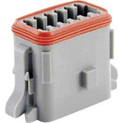 Image of Amphenol AT06 12SA Bullet connector Socket, straight Series (connectors): AT Total number of pins: 12 1 pc(s)