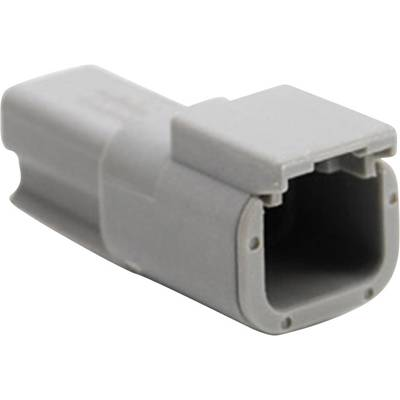 Image of Amphenol ATM04 2P Bullet connector Plug, straight Series (connectors): ATM Total number of pins: 2 1 pc(s)