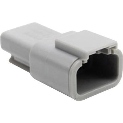 Image of Amphenol ATM04 3P Bullet connector Plug, straight Series (connectors): ATM Total number of pins: 3 1 pc(s)