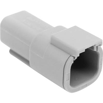 Image of Amphenol ATM04 4P Bullet connector Plug, straight Series (connectors): ATM Total number of pins: 4 1 pc(s)