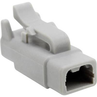 Image of Amphenol ATM06 2S Bullet connector Socket, straight Series (connectors): ATM Total number of pins: 2 1 pc(s)