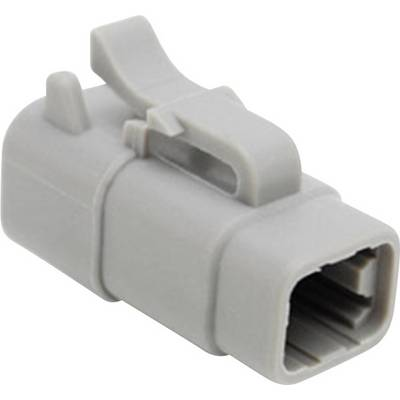 Image of Amphenol ATM06 4S Bullet connector Socket, straight Series (connectors): ATM Total number of pins: 4 1 pc(s)