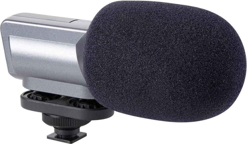 Mikrofon za kamero Renkforce AVL773 ožičen,vključuje kabel