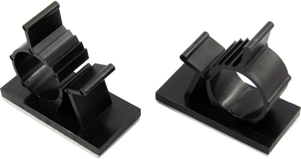 Sponka za kable samolepljiva naravne barve KSS 28530c1205 AP0810 1 kos