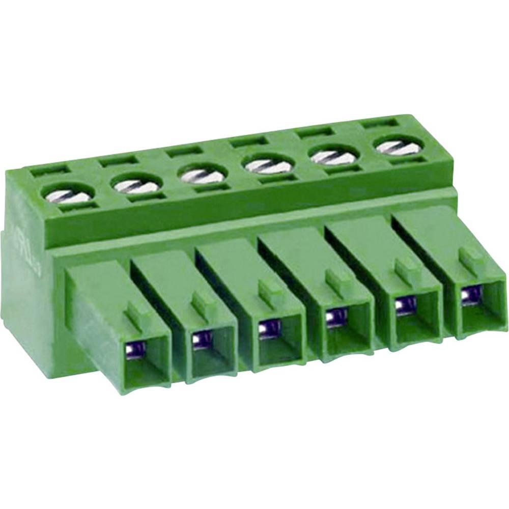 Tilslutningskabinet-kabel MC Samlet antal poler 3 DECA 1307079 Rastermål: 3.50 mm 1 stk