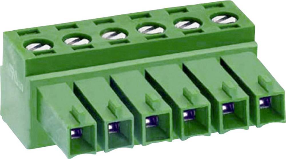Priključne sponke DECA MC420-38107 mere: 3.81 mm 1 kos