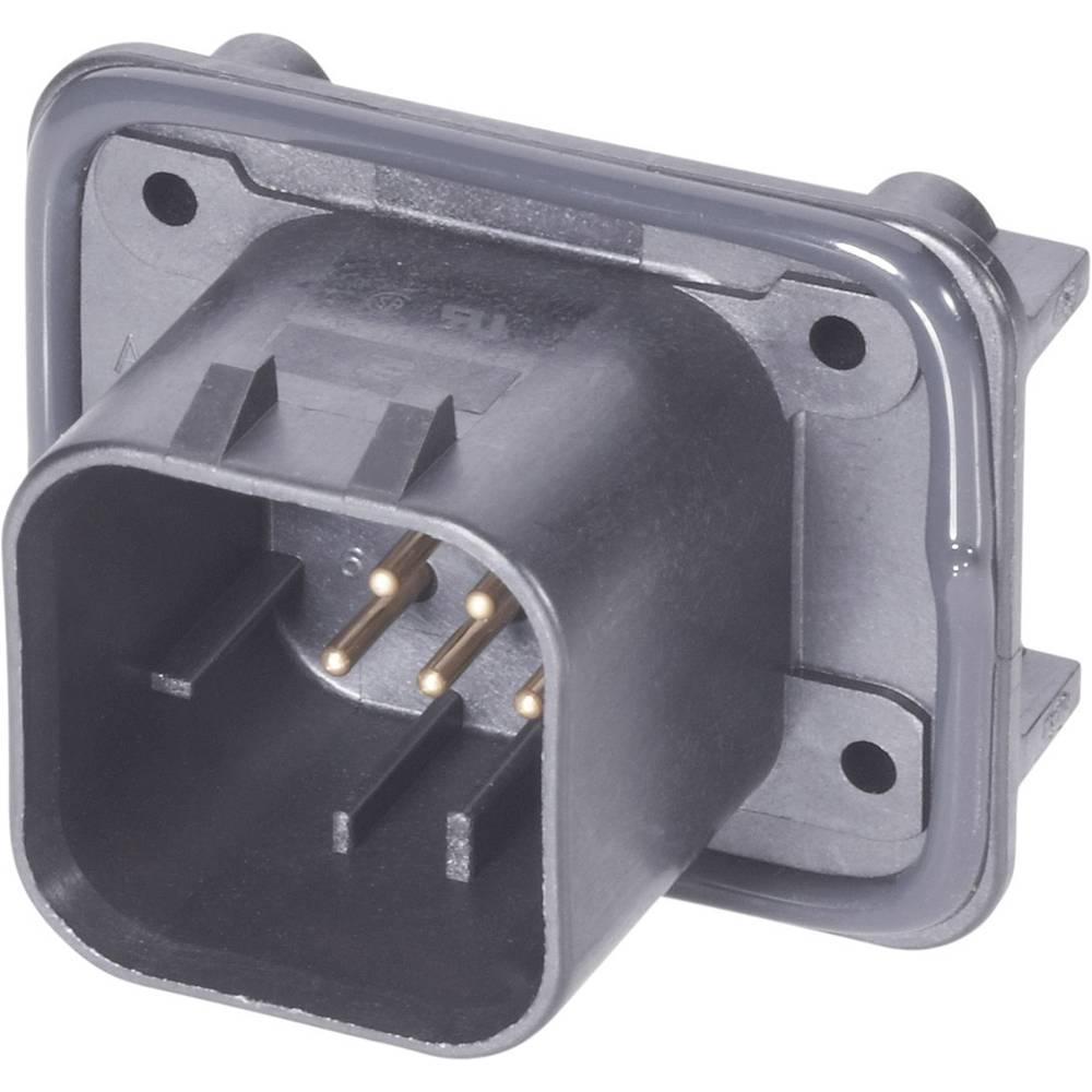 Indbygningsstiftliste (præcision) AMPSEAL Samlet antal poler 8 TE Connectivity 1-776280-1 1 stk