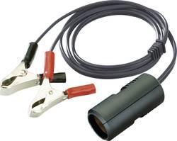 ProCar Kupplungskabel 8A Krokodilklemmen 12 V 8 A Cigarettænder-stikdåse