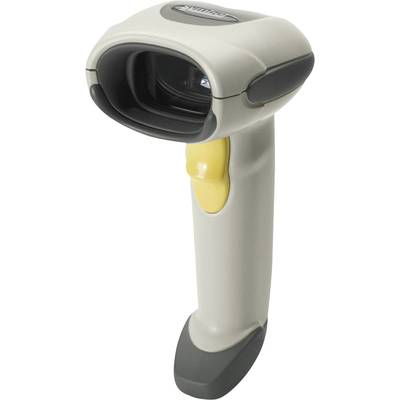 Zebra LS4208 Barcode scanner Corded 1D Laser Light grey Hand-held USB