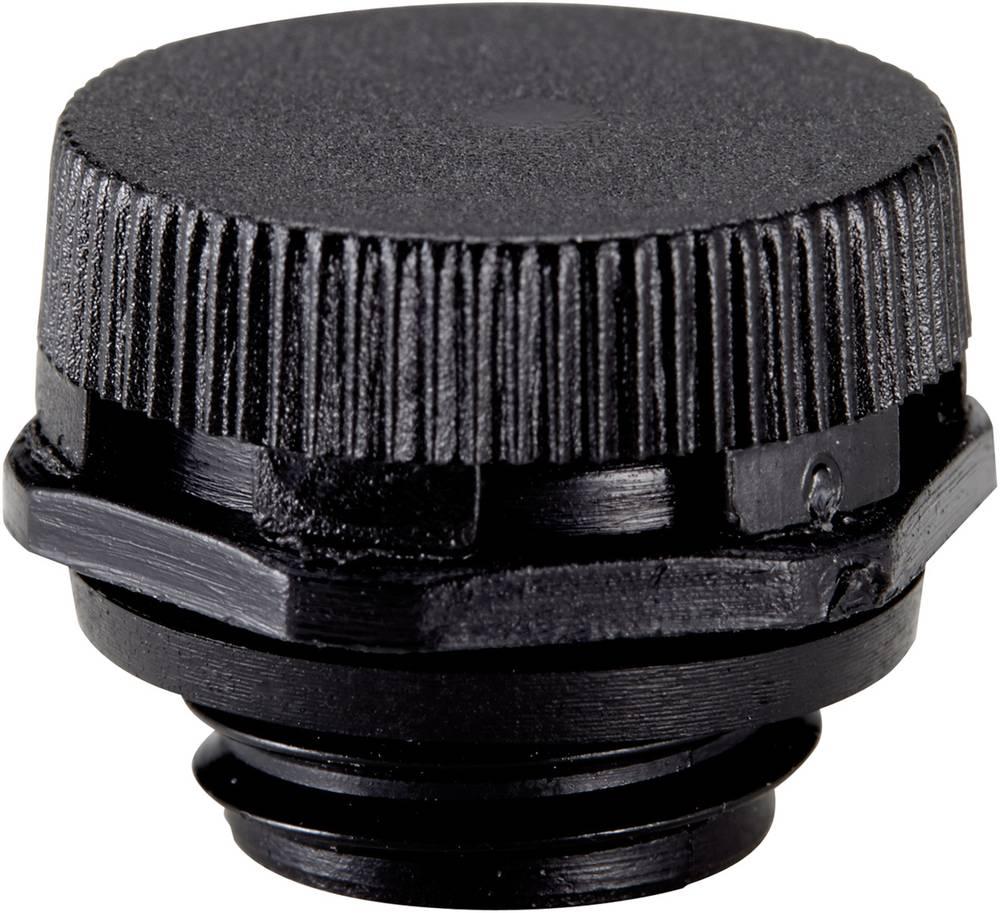 Element za izenačevanje pritiska M12, poliamid črne barve (RAL 9005) LappKabel SKINDICHT VENT 12x1,5 BK 1 kos