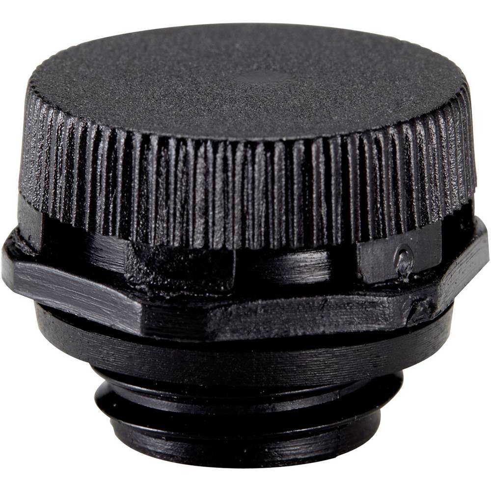 Element za izenačevanje pritiska M12, poliamid črne barve (RAL 9005) LappKabel SKINDICHT VENT UL 12x1,5 BK plus 1 kos