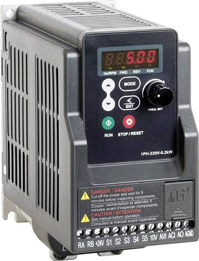 Peter Electronic Frequency inverter 0 37 kW 1-phase 230 V