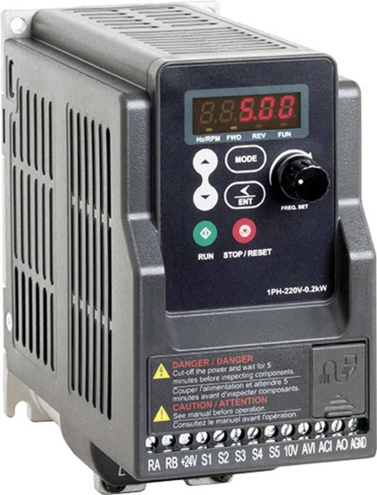 Ispravljač frekvencije FUS 020 L5 2T000.23020 Peter Electronic 1-fazni 200 - 240 V 0.2 kW