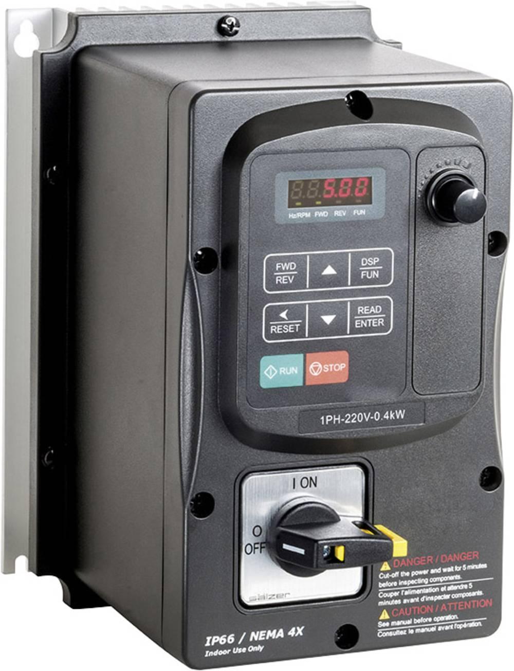 Ispravljač frekvencije FUS 150 E5 IP66 2T101.23150 Peter Electronic 1-fazni 200 - 240 V 1.5 kW